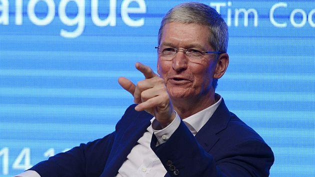 Tim Cook, presidente de Apple: