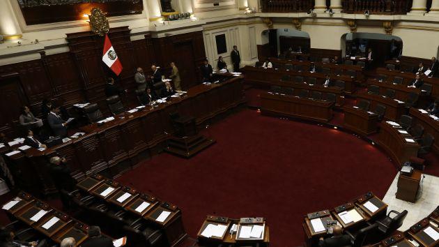 Congreso aprobó en primera votación paquete para reactivar la economía