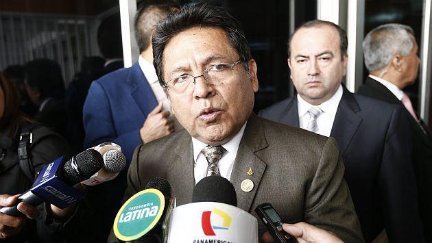 Fiscal de la Nación habló sobre las elecciones en la FPF. (César Fajardo)