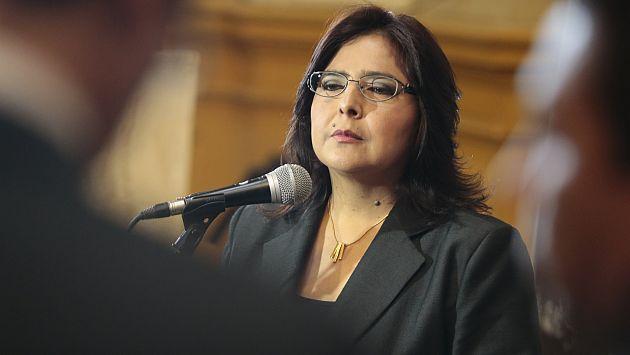 Ana Jara acusó a Comisión López Meneses de adelanto de opinión