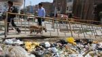 Chiclayo: Se acumulan más de 300 toneladas de basura en las calles
