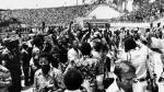 Muhammad Ali noqueó a Foreman hace 40 años en mítica 'Rumble in the Jungle' - Noticias de george foreman