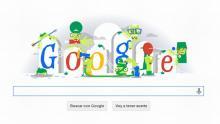 Google, Doodle, Halloween