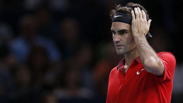 Roger Federer fue eliminado del Masters 1000 de París
