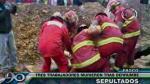 Pasco: Tres obreros murieron sepultados tras derrumbe en una zanja - Noticias de personas fallecidas