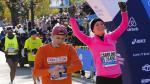 Caroline Wozniacki corrió en la Maratón de Nueva York - Noticias de wilson kipsang