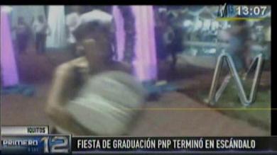Policía Nacional, Iquitos, Ceremonia de graduación