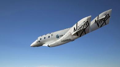 Nave espacial privada 'SpaceShipTwo' se estrelló y dejó un muerto