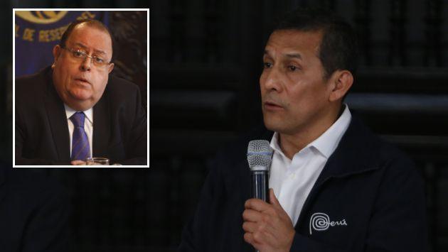 Ollanta Humala en desacuerdo con aumento salarial de jefe del BCR. (Martin Pauca/USI)