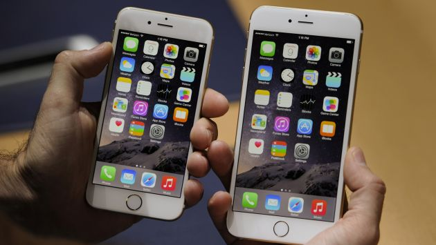 Movistar iniciará venta de iPhone 6 y iPhone 6 Plus. (Bloomberg)