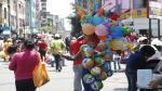Gamarra: Ambulantes siguen en las calles pese a ultimátum de Daniel Urresti - Noticias de antonio bazo