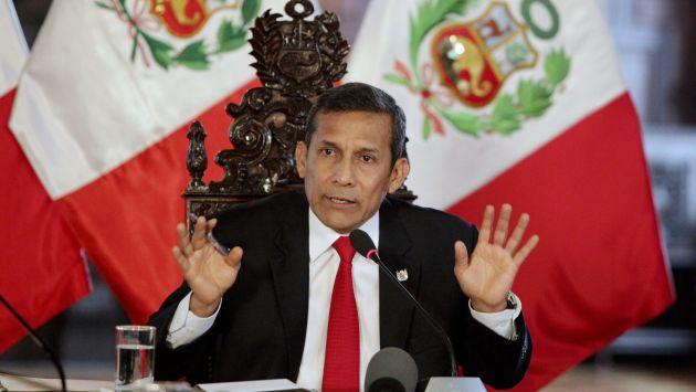 Ollanta Humala aclaró que tren bioceánico Perú-Brasil no pasará por Bolivia. (Reuters)