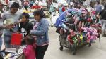 Gamarra: Más de 5 mil ambulantes se resisten a dejar las calles [Fotos] - Noticias de antonio bazo