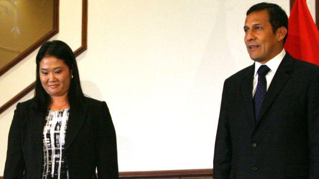 Keiko a Humala: 'Rechazo forma chavista de hacer política con insultos'