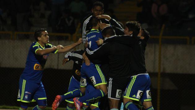 Cristal le ganó 3-2 a Alianza y acaricia título del Torneo Clausura 2014