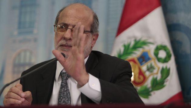 Abugattás dijo que no teme que Burga lo querelle. (Perú21/RPP TV)