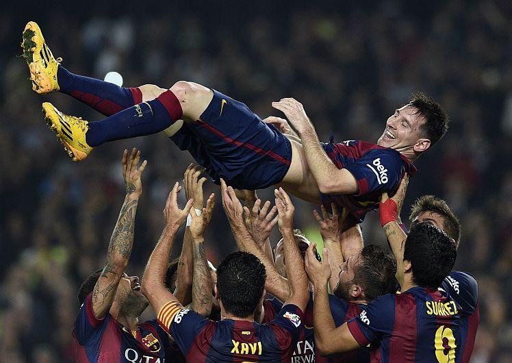 Lionel Messi es el máximo goleador de la Liga española