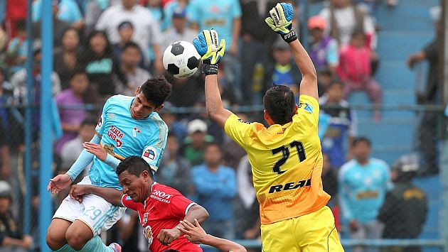 Sporting Cristal cayó 3-2 frente a Unión Comercio. (CMD/Andina)