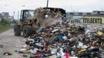 San Juan de Miraflores: Camiones de Ministerio de Vivienda recogieron basura - Noticias de adolfo ocampo