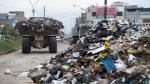 San Juan de Miraflores: Camiones de Ministerio de Vivienda recogieron basura - Noticias de ministerio publico