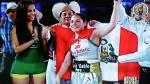 Linda Lecca retuvo su título mundial AMB ante la mexicana Maribel Ramírez