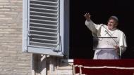 Aló, Francisco. No es la primera vez que el Papa se comunica telefónicamente con sus seguidores. (AFP)