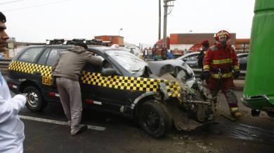 Cañete, Accidente de tránsito
