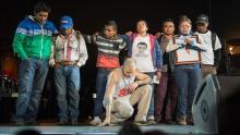 Calle 13, México, Ayotzinapa