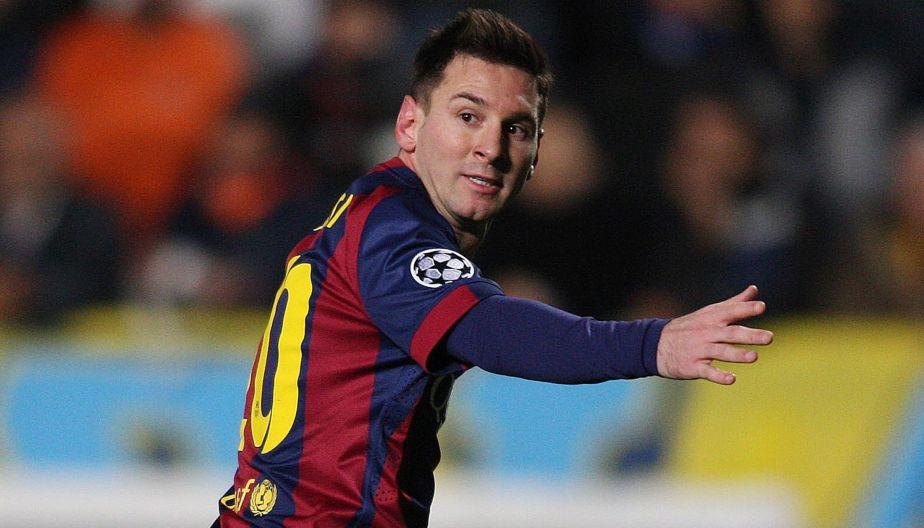 Barcelona venció 4-0 al Apoel con goles de Messi y Suárez
