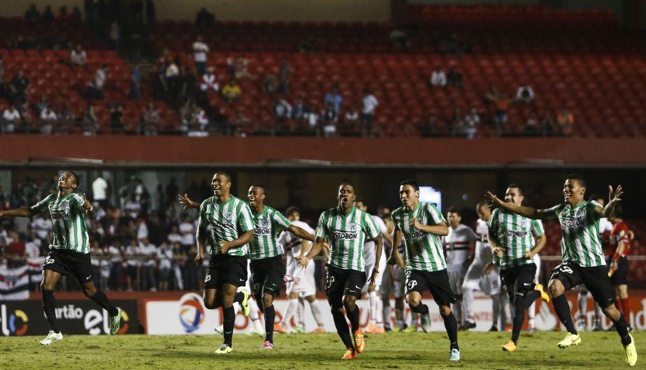 Sao Paulo, Atlético Nacional de Medellín, Copa Sudamericana 2014
