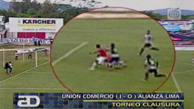 El gol anulado a Mauro Guevgeozián evitó el empate de Alianza Lima ante Unión Comercio.
