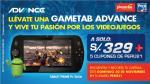 Obtén una Gametab Advance con la súper promoción de Perú21