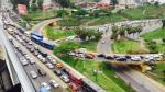 Costa Verde: Cierre de vía ocasionó caos vehicular en Barranco - Noticias de william davila