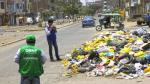 Denunciaron a Comas y San Martín de Porres por no recoger basura de calles - Noticias de freddy ternero