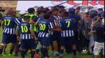 Unión Comercio vs. Alianza Lima acabó en bronca en Moyobamba [Video]