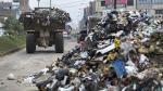 INEI: Más de 100 toneladas de basura al día se producen en distritos de Lima