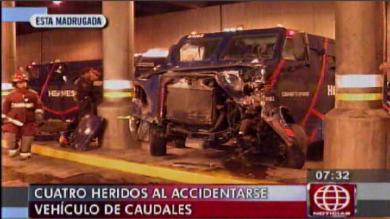 Cercado de Lima, Accidente de tránsito, Vía Expresa