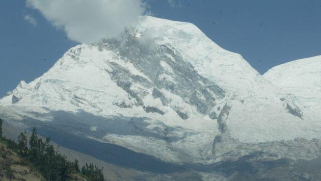 La capacidad actual de los glaciares peruanos es de 43 mil millones de metros cúbicos. (USI)