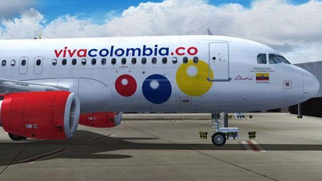 VivaColombia volará a Lima desde mañana.  (VivaColombia en Facebook)