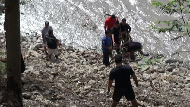 Son seis las personas muertas tras accidente en el río Urubamba. (Andina)