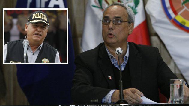 Manuel Burga le respondió a Daniel Urresti. (USI)
