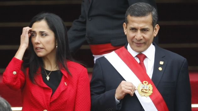 Nadine Heredia y Ollanta Humala asistieron a fiesta de Juan Carlos Rivera Ydrogo. (Perú21)