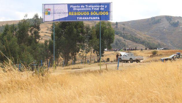 Se ubicará en Sapallanga. (Municipalidad de Huancayo)