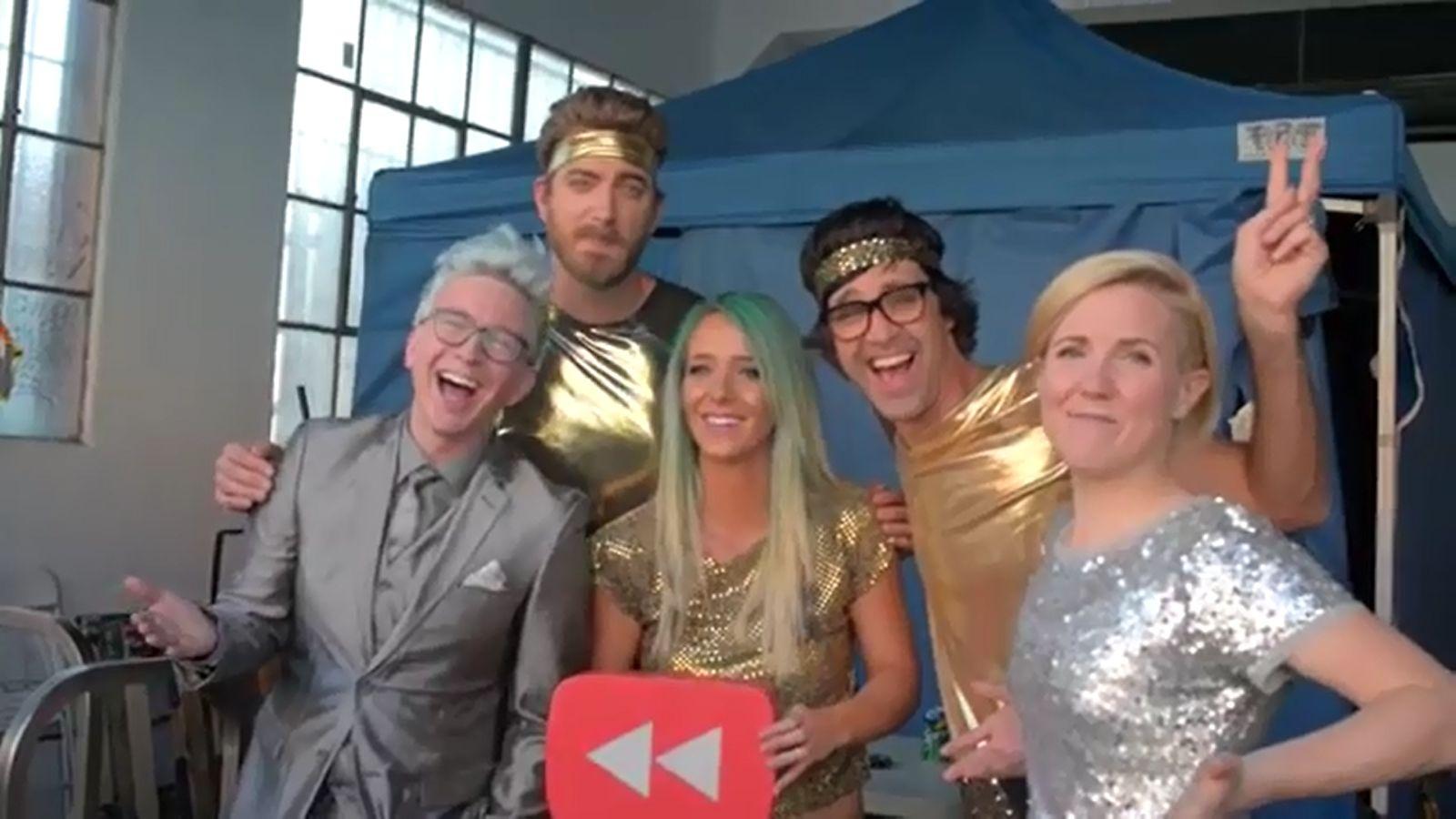 YouTube: Mira el detrás de cámaras del 'YouTube Rewind 2014'