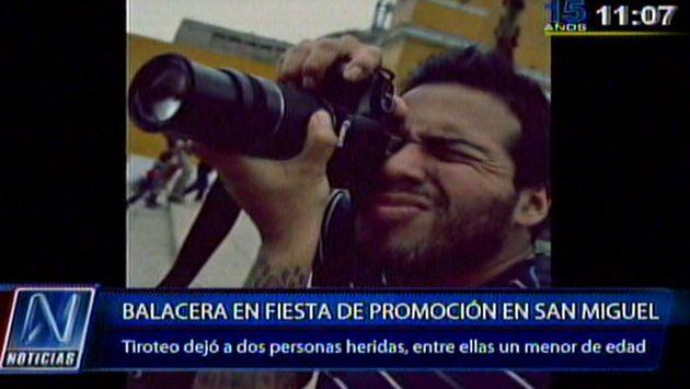 San Miguel: Robo en fiesta de promoción dejó 2 heridos de bala - Perú21