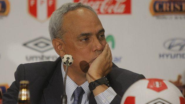Manuel Burga estuvo al mando de la FPF por 12 años. (David Vexelman)