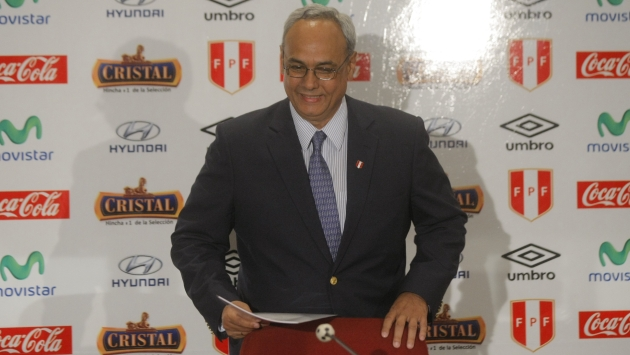 Manuel Burga no se presentó a la FPF. (USI)