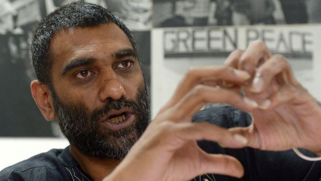 Director ejecutivo de Greenpeace, Kumi Naidoo, declarará este jueves ante el Ministerio Público. (AFP)