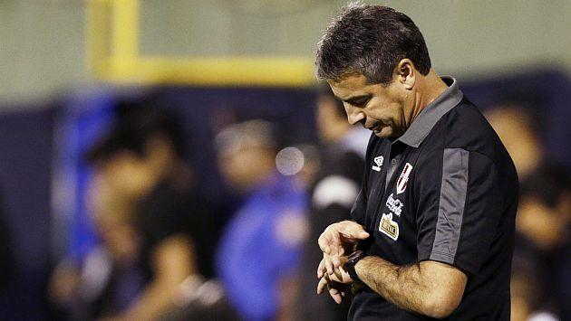Bengoechea se despidió de la selección peruana tras elección de Oviedo