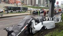 Accidente, Taxista